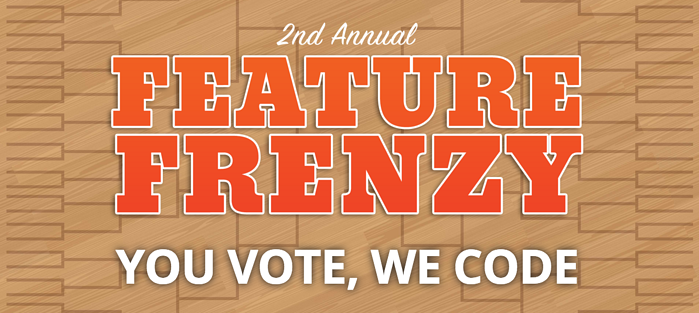 Fireside21 users vote on their favorite customer-suggested features in the annual Fireside Feature Frenzy!