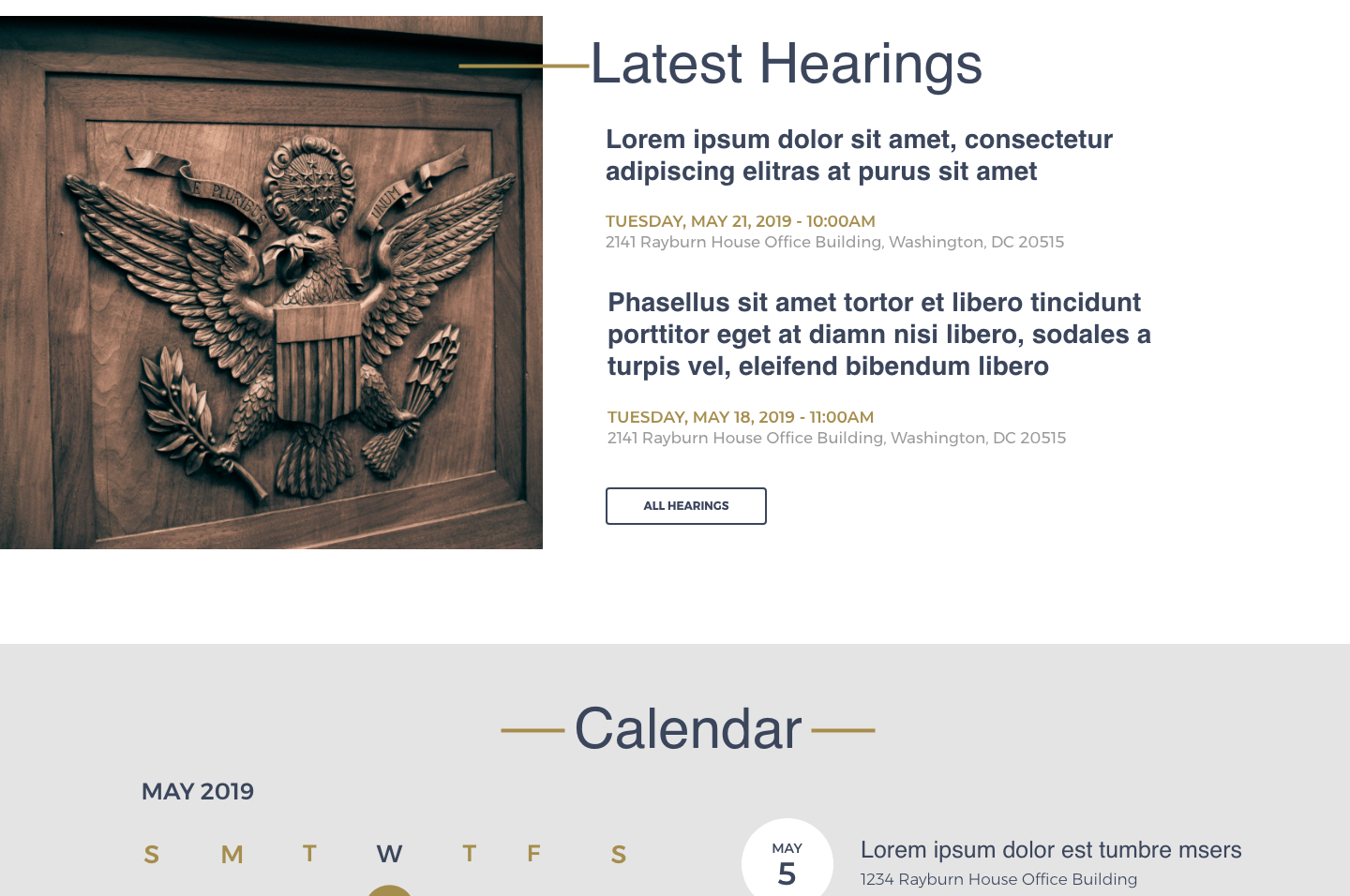 House Committee on the Judiciary<small>Latest Hearings</small>