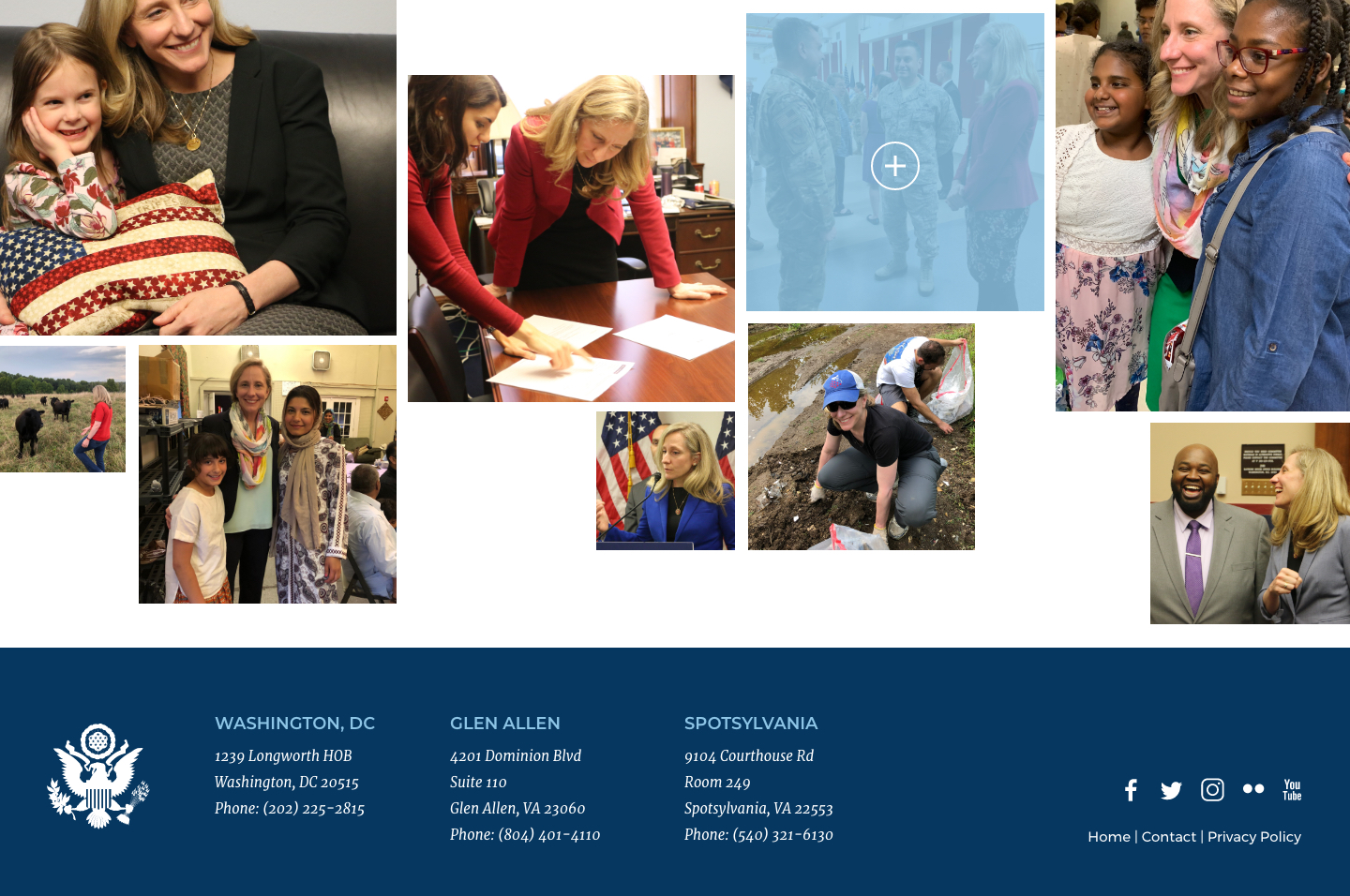 Rep. Abigail Spanberger<small>Masonry Photo Gallery</small>