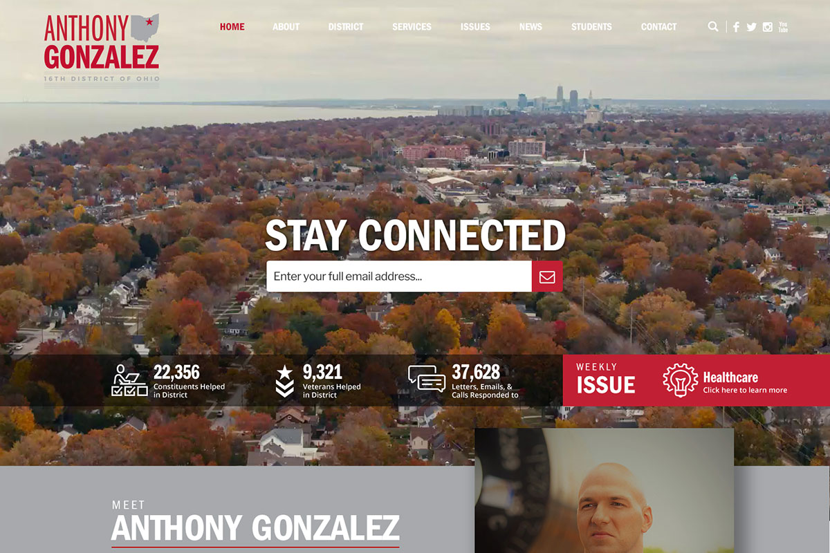 Rep. Anthony Gonzalez<small>Homepage</small>