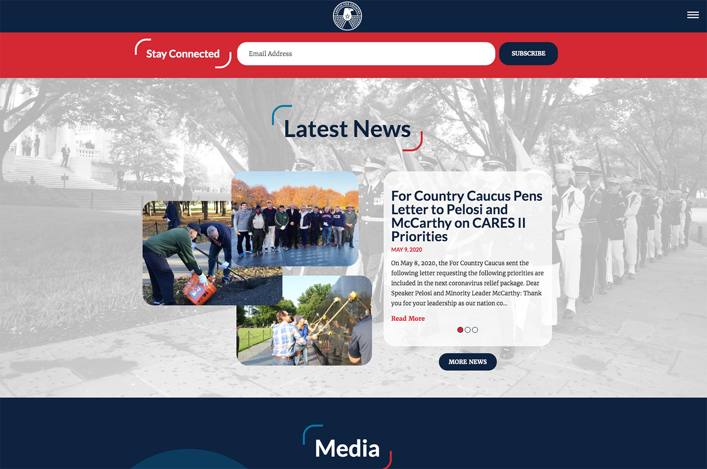 For Country Caucus<small>News Feed</small>