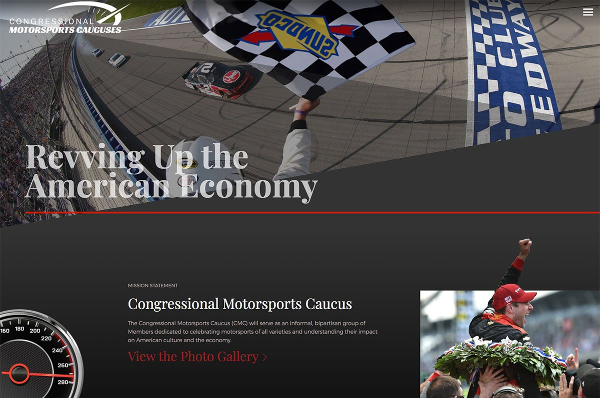 Congressional Motorsports Caucuses<small>Landing Page</small>