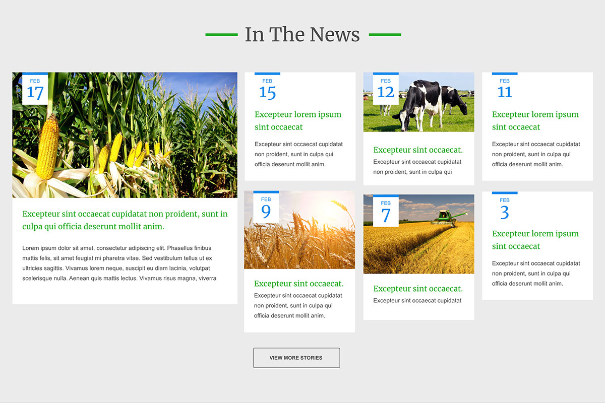 House Agriculture Committee<small>Homepage News Feed</small>